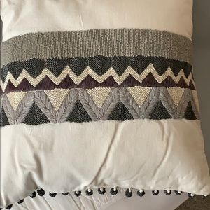 West Elm decorative pillow